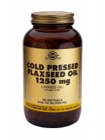 Cold Pressed Flaxseed Oil 1250 mg Softgels
