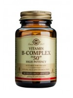"Vitamin B-Complex ""50"" Vegetable Capsules"