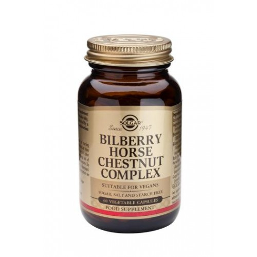 Bilberry Horse Chestnut Complex Vegetable Capsules