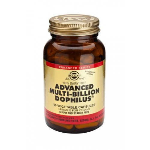 Advanced Multi-Billion Dophilus(R) (100% Dairy Free) Vegetable Capsules