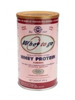 Whey To Go(R) Whey Protein Powder Natural Strawberry Flavour