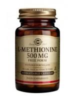 L-Methionine 500 mg Vegetable Capsules