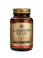 L-Arginine 500 mg Vegetable Capsules