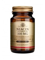 Niacin 100 mg (Vitamin B3) Tablets