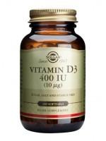 Vitamin D3 400 IU (10 µg) Softgels