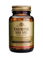 Taurine 500 mg Vegetable Capsules