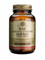NAC (N-Acetyl Cysteine) 600 mg Vegetable Capsules