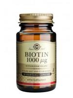 Biotin 1000 MCG Vegetable Capsules