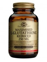 Maximised L-Glutathione Reduced 250 mg Vegetable Capsules