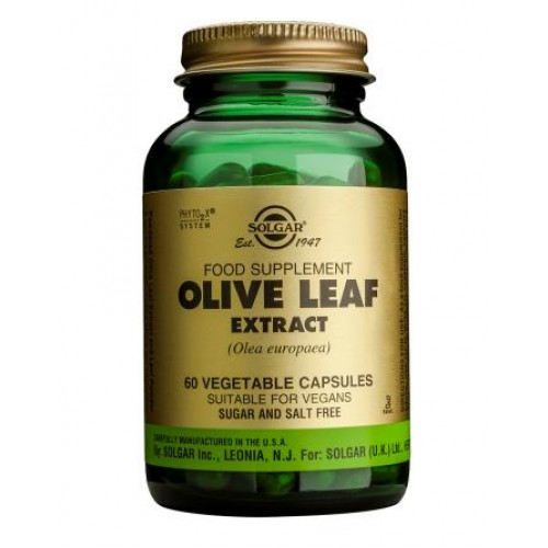 Olive Leaf Extract Vegetable Capsules
