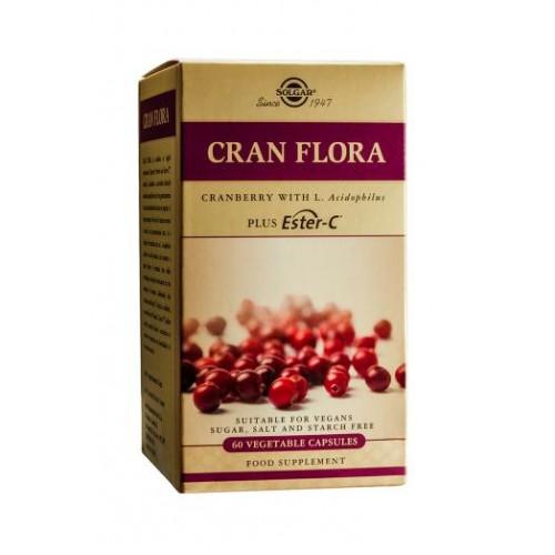Cran Flora Cranberry Vegetable Capsules