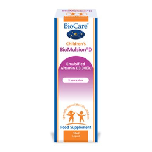Children's BioMulsion® D (Liquid vitamin D)10ml