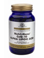 Nutri-Nano(TM) CoQ-10 Alpha Lipoic Acid Softgels