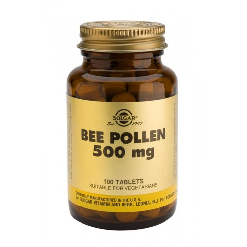 Bee Pollen 500 mg Tablets