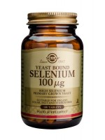 Selenium 100 µg Tablets (Yeast Bound)