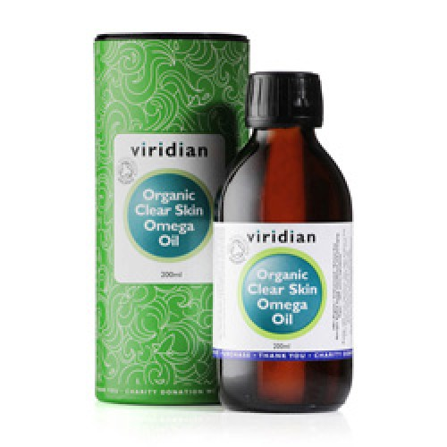 100% Organic Clear Skin Omega Oil