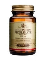 Chromium Picolinate 100 mcg Tablets