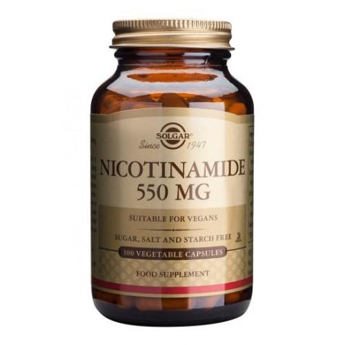 Nicotinamide 550 mg Vegetable Capsules