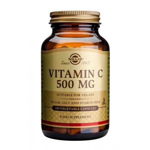 Vitamin C 500 mg Vegetable Capsules