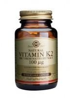 Vitamin K2 100 µg Vegetable Capsules