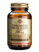 Chromium Picolinate 200 mcg Vegetable Capsules