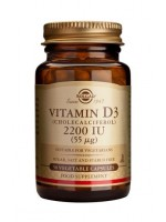 Vitamin D3 2200 IU (55 µg) Vegetable Capsules