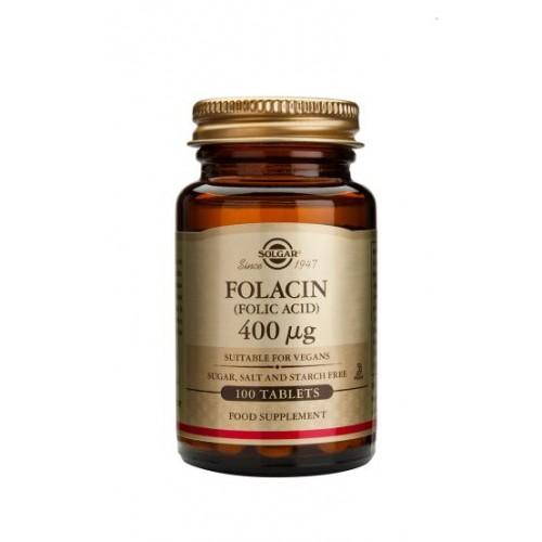 Folacin 400 µg (Folic Acid) Tablets