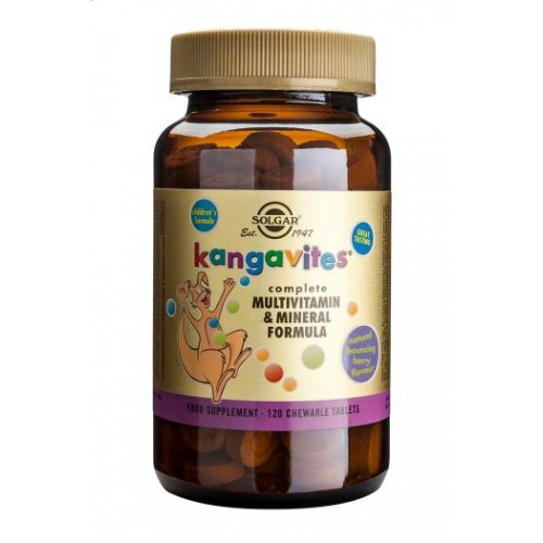 Kangavites(R) Multivitamin & Mineral Chewable Tablets Bouncing Berry