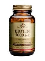 Biotin 5000 mcg Vegetable Capsules