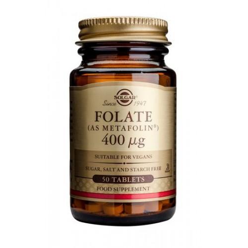 Folate 400 µg (as Metafolin(R)) Tablets