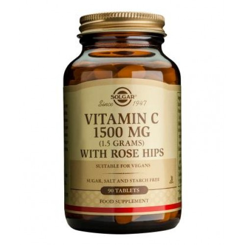 Vitamin C 1500 mg with Rose Hips Tablets