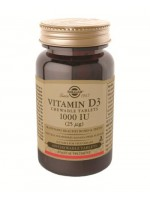 Vitamin D3 1000 IU (25 µg) Chewable Tablets